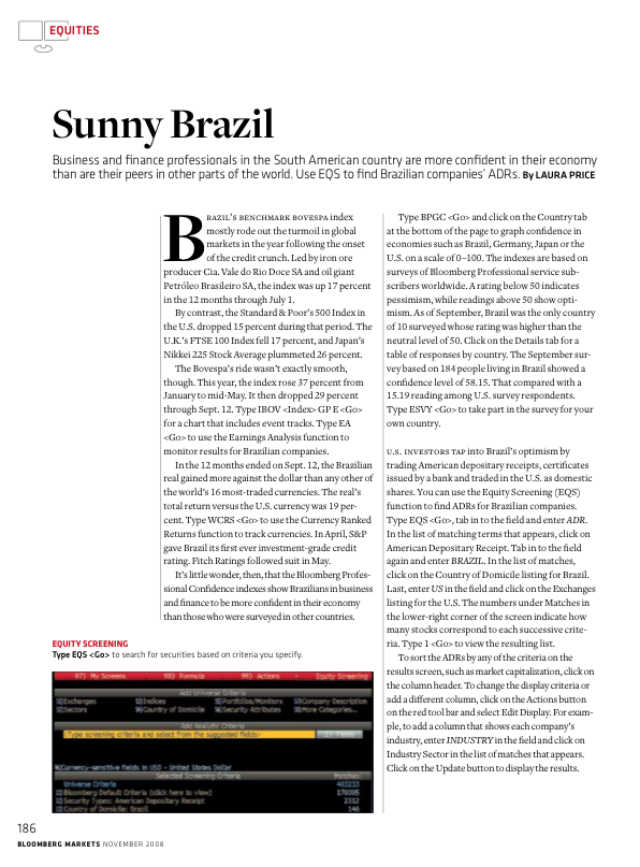 Sunny Brazil