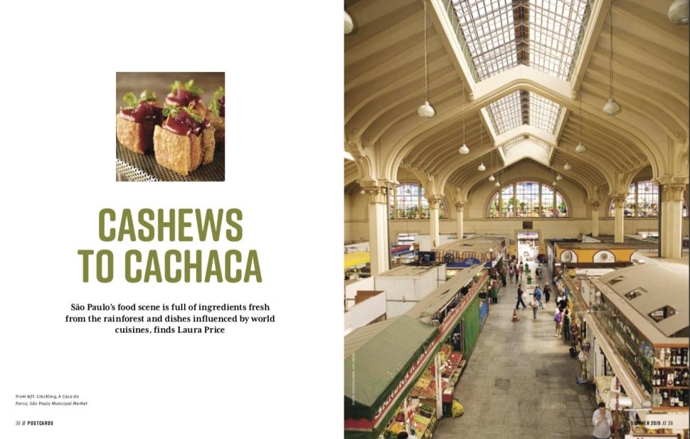 Cashews to Cachaca double screenshot